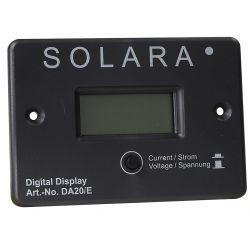 Digitale meter voor zonnepanelen uitlezing