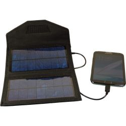POWERplus Fox , compacte solar lader voor mobiele telefoon, Mp3, of navigatie.