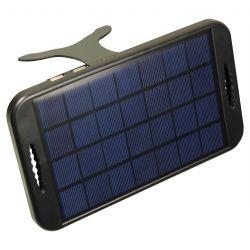 POWERplus Camel Zonnelader voor powerbanks en mobiele telefoons - 3W zonnecel / 2W max. opbrengst.