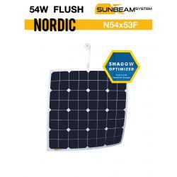 SUNBEAMsystem NORDIC 54Wp FLUSH semiflexibel zonnepaneel