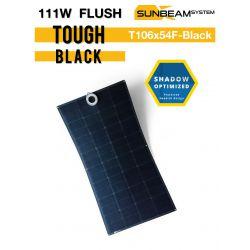 SUNBEAMsystem TOUGH 111Wp FLUSH - BLACK semi flexibel zonnepaneel