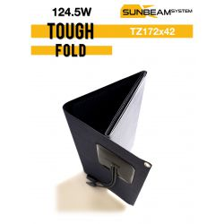 SUNBEAMsyatem TOUGH FOLD 124,5 Wp vouwbaar semi flexibel zonnepaneel