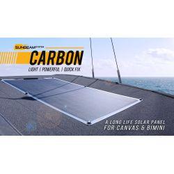 SUNBEAMsystem Tough+ 116Wp Carbon Quick Fix semi flexibel zonnepaneel