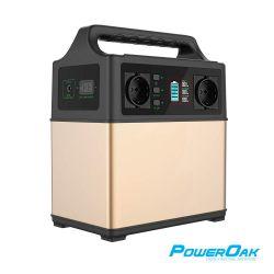 PowerOak PS5 400Wh / 120000mAh solar AC/DC USB-C generator
