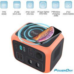 PowerOak PS6 500Wh solar AC/DC generator