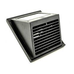 Zonne ventilator voor tuinhuisje,caravan en boot zwart of witt