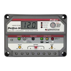 PS-30M 12/24 volt 30 Amp Laadregelaar