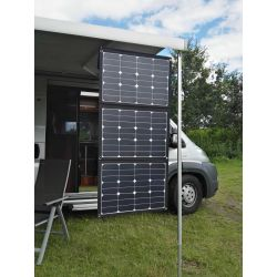 Opvouwbaar driedelig 110 Wp zonnepaneel